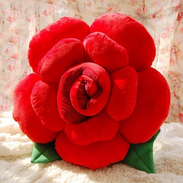 Rose Plush Toy