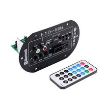 Car Bluetooth Subwoofer Amplifier Board 12V 24V 220V Audio Amplifiers USB Radio TF Player For 5-10 inch Speaker DIY Amplificador все цены