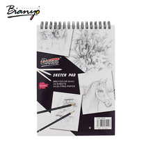 Bianyo 160gsm A4 A5 Sketch Book Stationery Notepad SketchBook For Painting Drawing Diary Journal Creative Notebook Gift