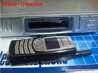 SENAO SN 6610 long distance cordless telephone 1 base support 9 extra handset Duplex Intercom