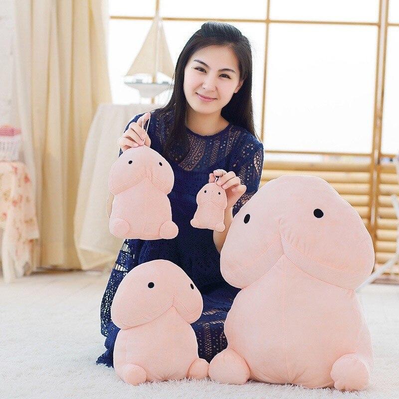 Funny Penis Plush Doll Toys Soft Stuffed Simulation Penis 1