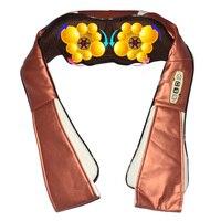 Amkee 12 Massage Balls Electrical Shiatsu Kneading Body Back Neck Shoulder Massager 4D Infrared Heating Massager