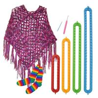 4 Size Quality DIY Scarf Shawl Hat Socks Knitter Knifty Long Knitting Loom Hot New Drop Shipping