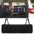 110 x 34cm Car Seat Back Tidy Organiser Multi-Pocket Auto Travel Hanging Storage Bag Holder Auto Accessories