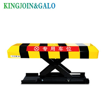 Car Park barrier/ Driveway Safety parking Barrier / Bollard with 2 remote control(no battery coming)