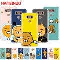 Hameinuo мультфильм смешной какао чехол телефон Обложка для LG G7 Q6 G6 мини G5 K10 K4 K8 2017 2016 X мощность 2 V20 V30 2018 - фото