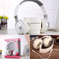 Extra Bass Stereo Headphones Adjustable Folding HIFI Headset With MIC Surround StereoNoise Canceling For Smartphones Computer