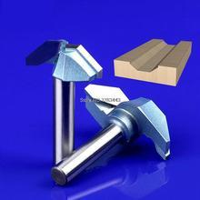 1/2*66mm Industry Flat Bottom V Shape Trimming Knife Tools,Redwood Furniture Wood Cutter Mill 5759