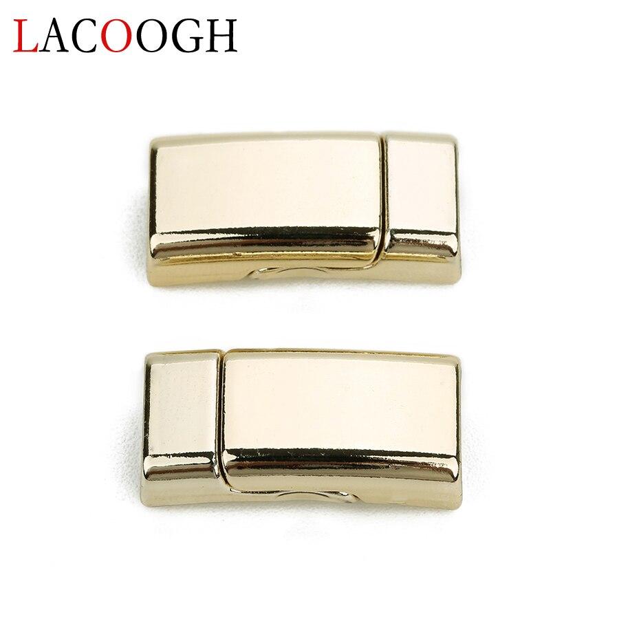 Размер отверстия 10*5 мм магнитные застежки из сплава kc Золотой