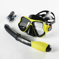 comfortable Silicone Diving Scuba Mask Snorkel Set for adult