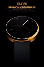 Marke DM360 Bluetooth Smartwatch Smart uhr für IOS Andriod Handy mit pulsmesser Armbanduhr