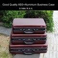Hohe qualität Aluminium werkzeug fall ABS toolbox Aluminium rahmen Business advisory koffer Mann tragbare koffer aktentasche Koffer