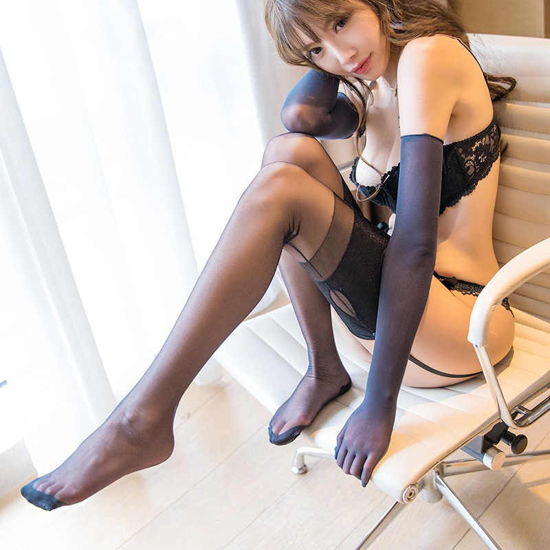 d85ec6b85 Vintage Sexy Lingerie Women Stockings Wide Rib Top Cuff Transparent Medias  Back Seam keyhole Cuban Heel