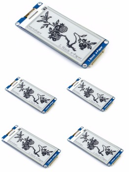5pcs/lot 2.9inch E-Ink display ,2.9'' e-paper,296x128,Two Display color: black,white, SPI interface,supports partial refresh.