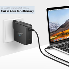 Helper USB Type C Wall Charger Fast Charging Power Adapter for Macbook touchbar XPS XiaoMi Razer Blade Stealth nintendo switch
