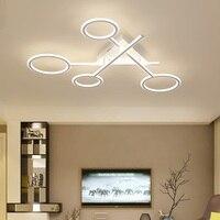 Креативный современный алюминиевый силиконовый светодиодный потолочный светильник гостиная спальня столовая потолочный светильник комм
