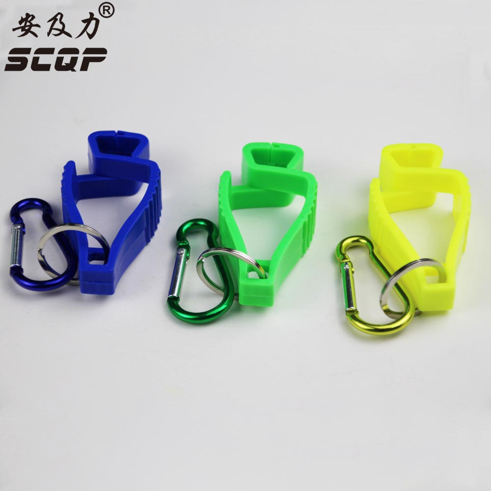 AT-10  Plastic POM Glove Holder Multipurpose Work Gloves Clip Guard For PVC Safety Work Gloves