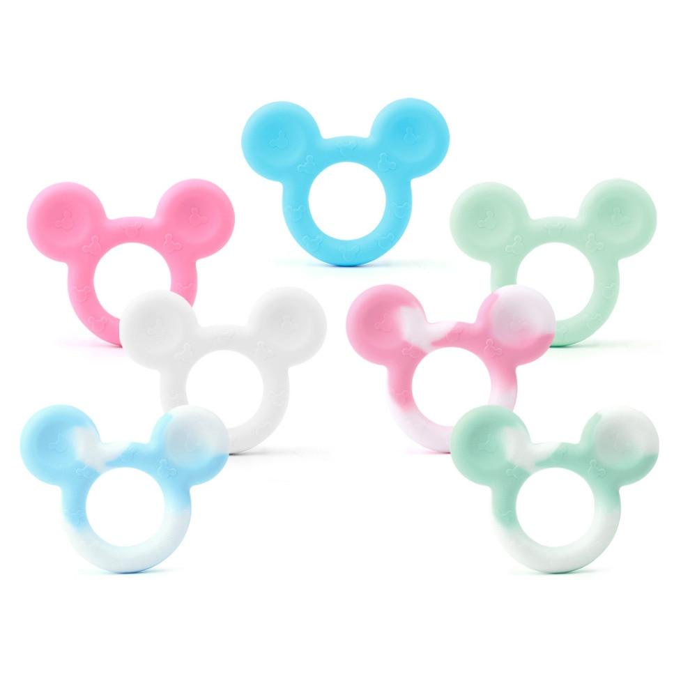 TYRY.HU Mickey szilikon Teether Baby Teethers medál nyaklánc - Babaápolási