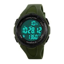 Multi-function Calories Step Counte Men/Women Electronic Waterproof Watch Outdoor Sports crossfit Training Running Accessories(China)