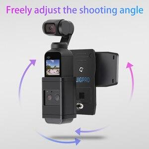 Image 5 - Sırt çantası/Çantası Kelepçe Klip Osmo Cep Gimbal Kamera ile Sabit Adaptör Dağı DJI Osmo Cep Sırt Çantası Tutucu aksesuarları