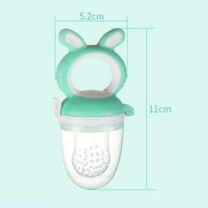 Image 5 - תינוק פטמת מזון טרי מכרסמת תינוק מוצצים מזין ילדים פירות האכלת פטמה בטוח אספקת פטמה פטמת מוצץ בקבוקים