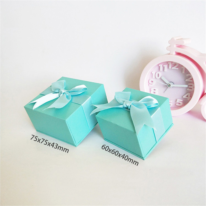 20pcs/group, special paper box with full leather paper, ring box pendant box, multi-purpose jewelry gift box, factory outlet
