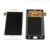 Para samsung galaxy s2 i9100 i9105 lcd screen display toque digitador assembléia preto branco azul
