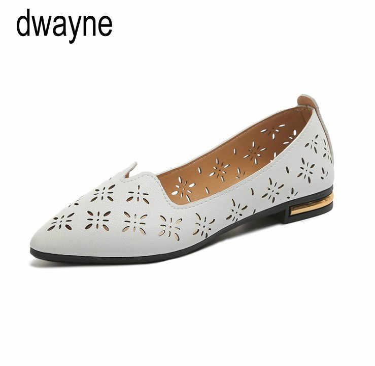 Kadın Pompaları Yeni Moda İlkbahar Yaz Ayakkabı Rahat Sivri Burun Loafer'lar Sığ iş ayakkabısı Bayan Bayan Yürüyüş Parti Pompası uik9