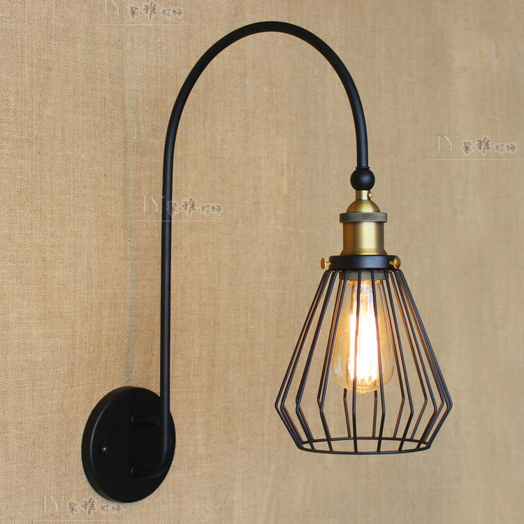 E27 Vintage Industrial Wall Lamp Loft Creative Swing Arm Sconce Balcony Stair Porch Restaurant Bar Bedroom Wall Light Home LightE27 Vintage Industrial Wall Lamp Loft Creative Swing Arm Sconce Balcony Stair Porch Restaurant Bar Bedroom Wall Light Home Light