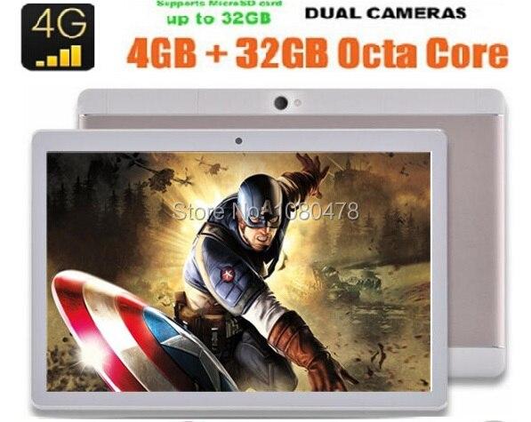 10 дюймов 4 Г LTE tablet pc 1920*1200 IPS Экран MT8752 Окта Ядро phablet GPS Android 6.0 DHL бесплатная Доставка