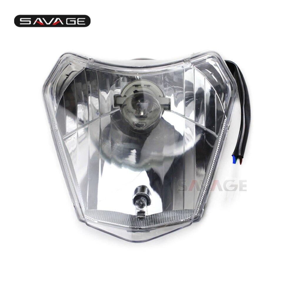 front headlight headlamp assembly for ktm 125 150 200 250. Black Bedroom Furniture Sets. Home Design Ideas