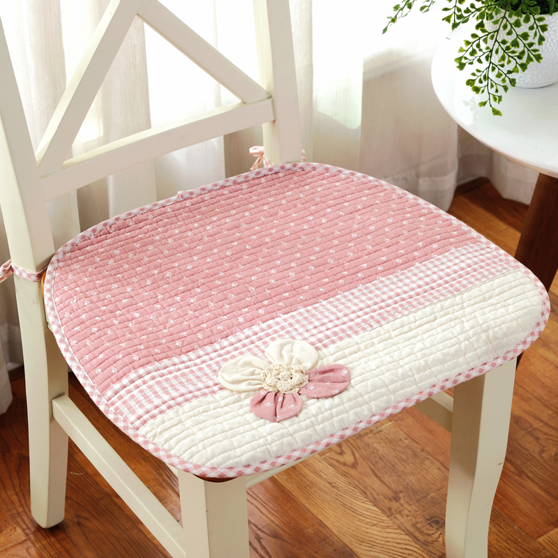 Lovely Flower Decor Anti Slip Chair Cushion Mat Pad 4 Seasons Thicken  Kitchen Seat Cushions