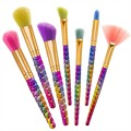 Rainbow Hair Cosmetic Brush Set Unicorn brushes Makeup Brushes Professional Make up kit Beauty Tools