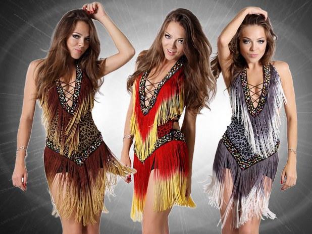 Hot! New Fashion Women Latin Dance Dress Professional Samba Dance Wear Salsa Dresses Dance Costumes Clothes For Dancing Dress