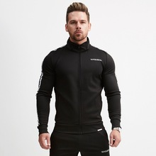 где купить M-2XL Large Size Loose Men Hoodies Suits Baseball Style Sweater Set Thermal Man Sport Suit Jogger Run Gym Sets по лучшей цене