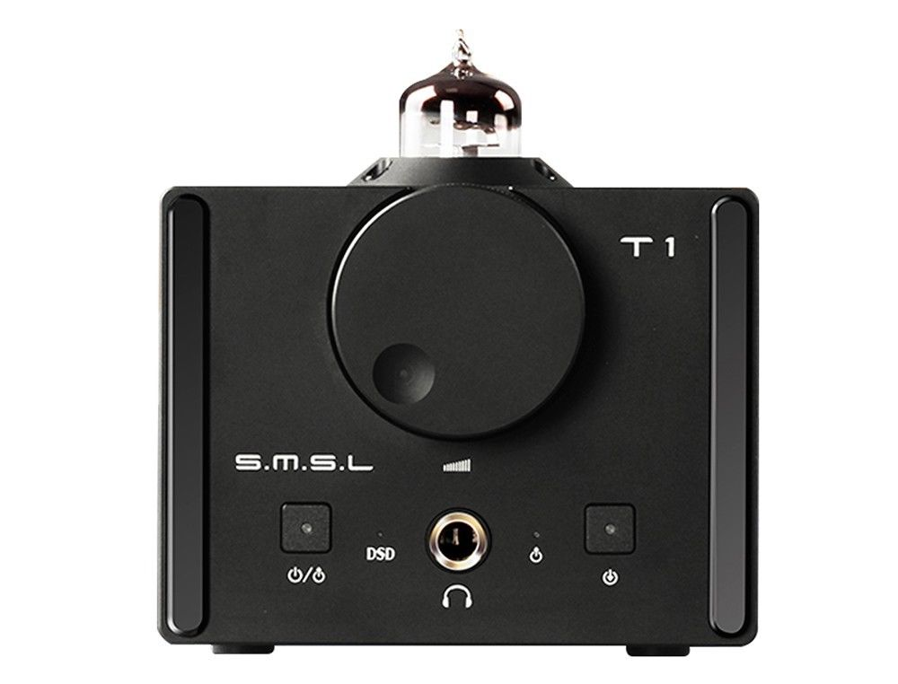 SMSL T1 DAC Tube Headphone Amplifier OpticalCoaxialUSBDecoder110v to 240v