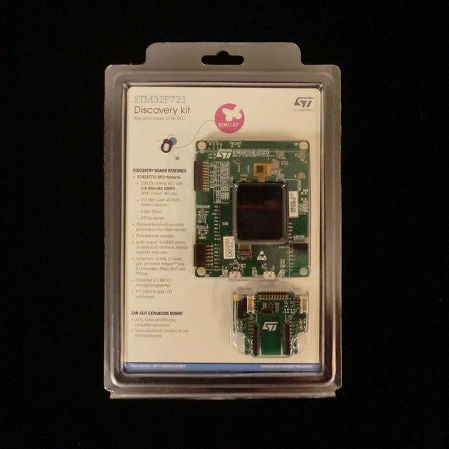1 pcs x  STM32F723E DISCO Development Boards & Kits   ARM Discovery kit with STM32F723IE MCU