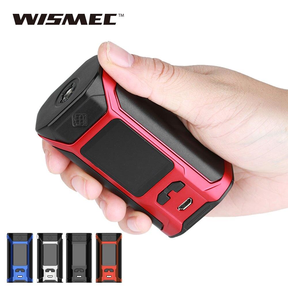 Original 200 W WISMEC sinueux RAVAGE230 boîte MOD 200 W Max sortie 1.45 pouces OLED affichage pas de batterie e cigs sinueux RAVAGE230 MOD