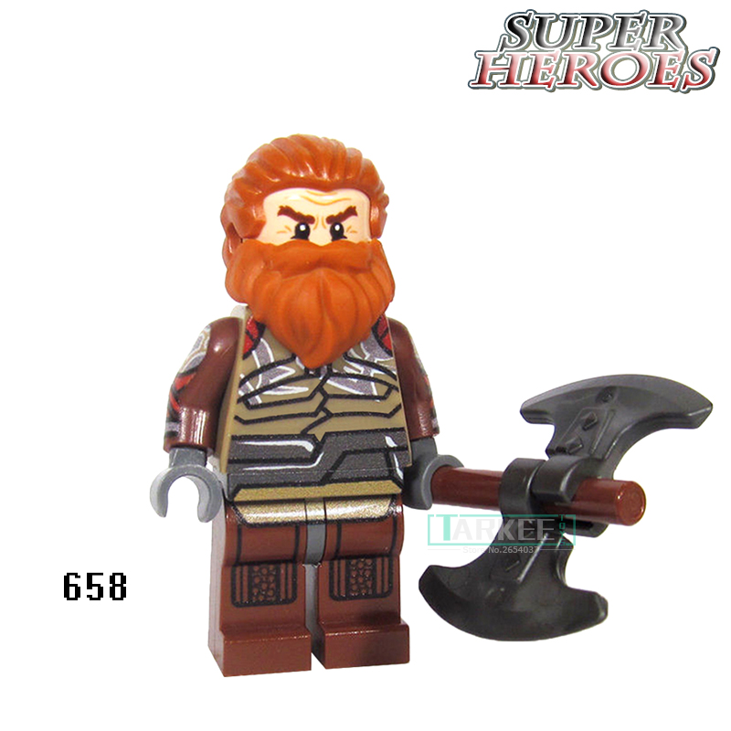 Volstagg Educational Blocks Grandmaste Figures Avengers Super Hero Star Wars Model Action Bricks Kids DIY Toys Hobbies XH657 building blocks pg966 the twelfth doctor idea021 doctor who set 21304 super hero action bricks kids diy educational toys hobbies