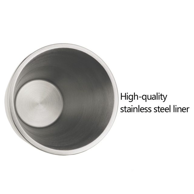 2 Colors Dual Layer Stainless Steel Thermo Cup Automobile Car Insulated Thermal Coffee Tea Milk Water Bottle Drinkware