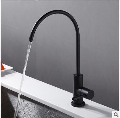 Kitchen faucet sink sink above counter basin Single cold faucet Rotating waterKitchen faucet sink sink above counter basin Single cold faucet Rotating water