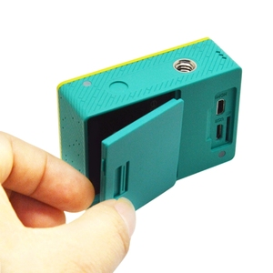 Image 5 - Battery Back Door Cover With USB Port Cover For Xiaomi Yi Sports Action Camera