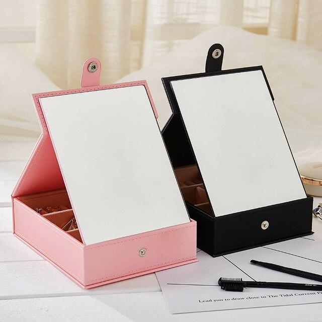 LIYIMENG joyero caja de embalaje organizador de maquillaje estuche para cosméticos contenedor de belleza graduación regalo de cumpleaños