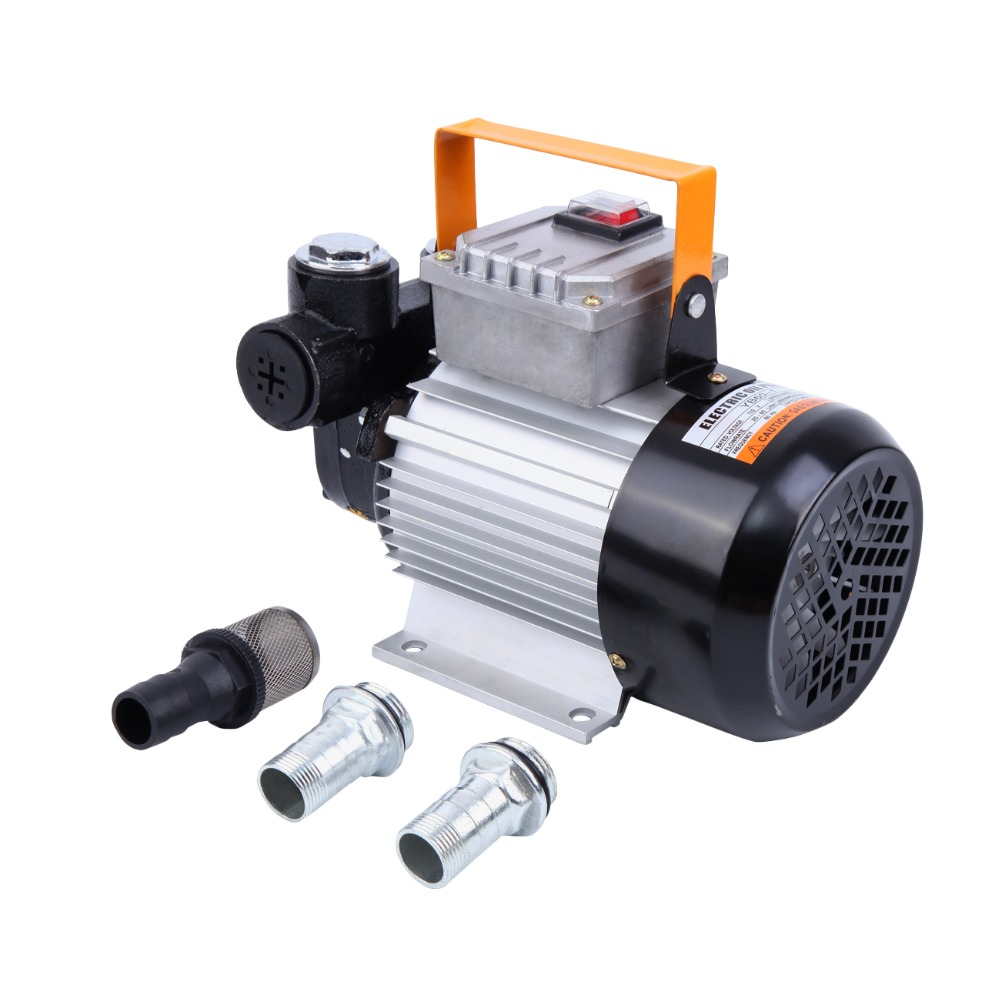 (Expédier de nous) auto Prime 110 V AC 16GPM pompe de transfert d'huile carburant Diesel kérosène Biodiesel pompes 60L/min 550 W