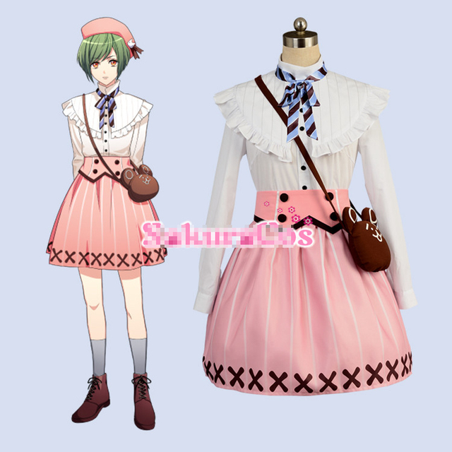 A3 Rurikawa Yuki Cosplay Costumes shoes onlin hot sale