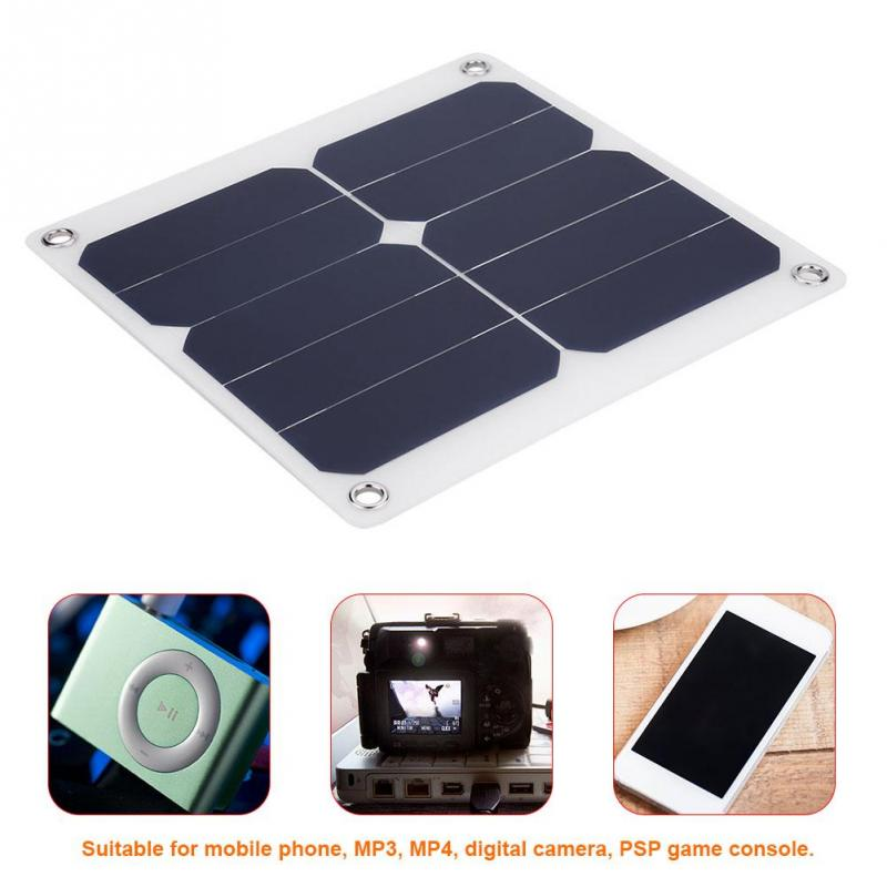 1pc 13W Solar Panel 5V Silicon Solar Panel Monocrystalline Solar Panel Battery Charger MP3 MP4 PSP Game Console