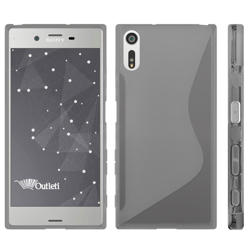 Case for Sony Xperia XZS XZ Case Slim Anti-skid S line Soft Silicone TPU Cover for Sony Xperia XZ XZS Xperia XZ Premium Case