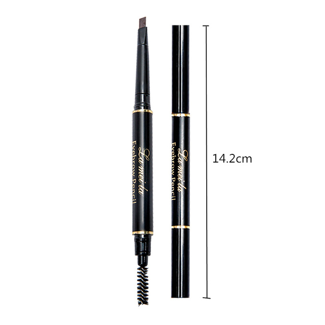 Enhancer Eyebrow Pencil Waterproof Shadow Eyebrow Tattoo Pen & Brush Cosmetics Long Lasting Tint Henna Eye Brow Pen Makeup Tools 5