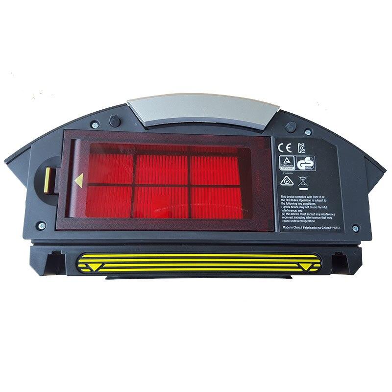 Filtre Hepa collecteur de poussière filtre bac collecteur pour iRobot Roomba 800 900 série 870 880 890 960 pièces d'aspirateur robot-in Pièces d'aspirateur from Appareils ménagers    1