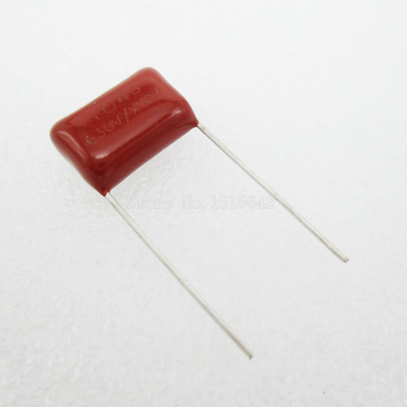 10PCS/Lot 104 <font><b>100nF</b></font> 630V CBB Polypropylene <font><b>Film</b></font> <font><b>Capacitor</b></font> Pitch 15mm 104 <font><b>100nF</b></font> 630V NEW image
